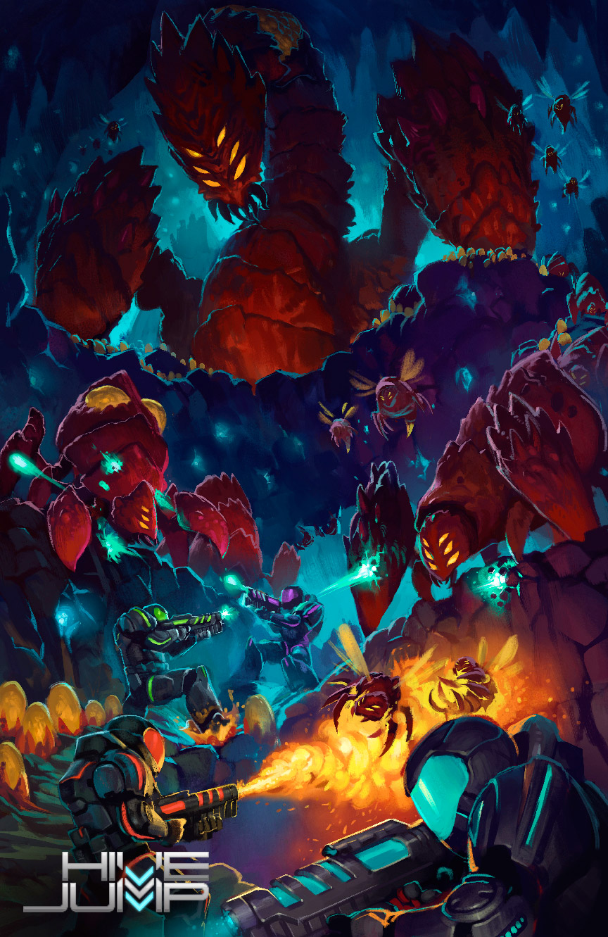 Hive Jump Poster