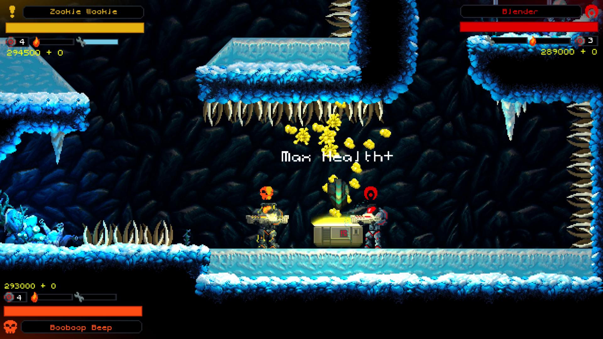 Hive Jump Frozen Underground