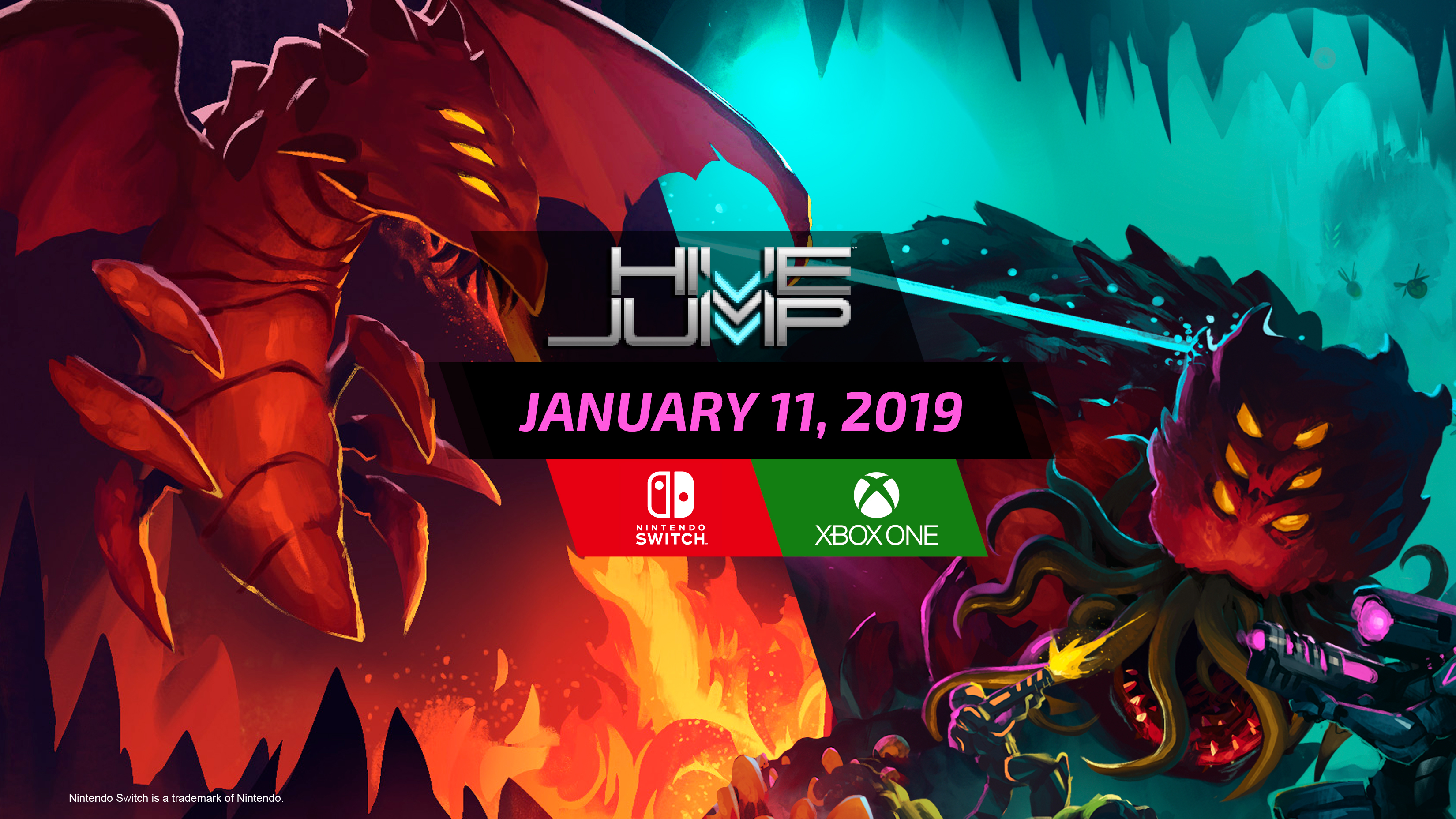 Hive Jump deploys on Nintendo Switch and XBOX One January 11, 2019